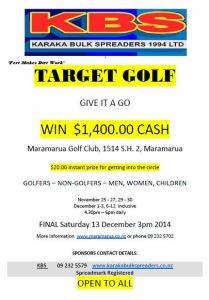 Target golf 2014
